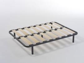 Somier de cama con láminas de madera