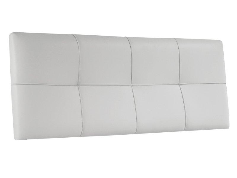 Cabecero de cama acolchado cabezal cama tapizado color blanco - Cabezal de cama tapizado ...