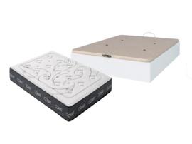Canapé de cama abatible y colchón nucleo HR alta densidad