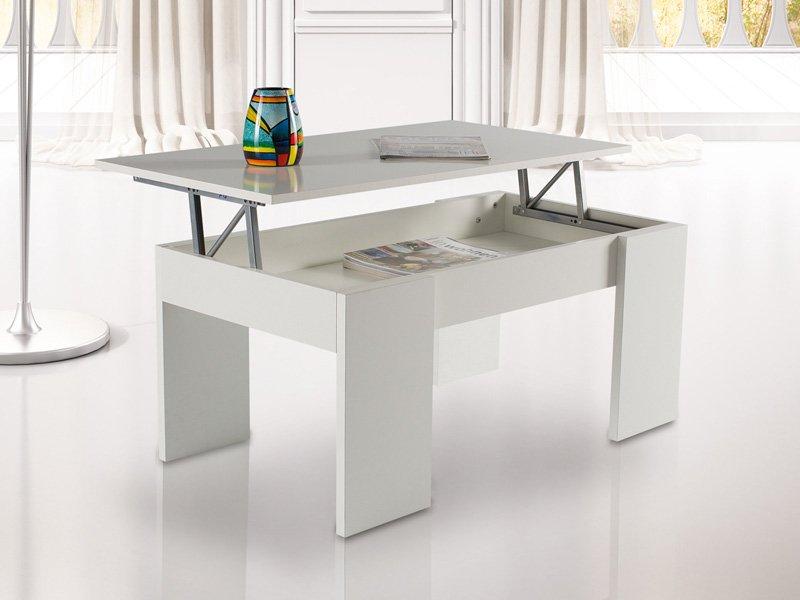 Mesa de centro elevable color cerezo mesa comedor car for Mesa comedor cerezo