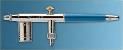 Aerógrafo Grafo T2: boquilla 0,2 mm, 4 depósitos metálicos 3 ml, conexión rápida