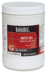 Liquitex: Médium gel mate: 946 ml