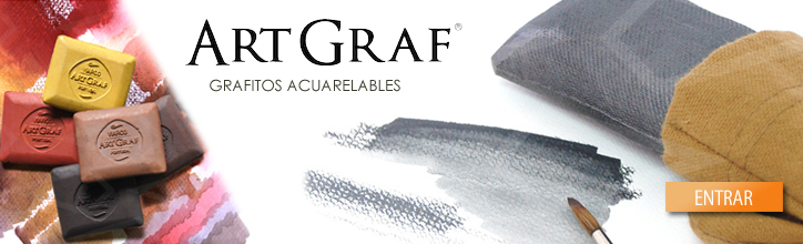 Artgraf grafitos acuarelables