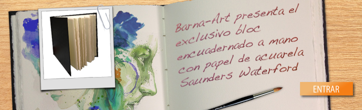 Bloc saunders waterford Barna-Art, novedad