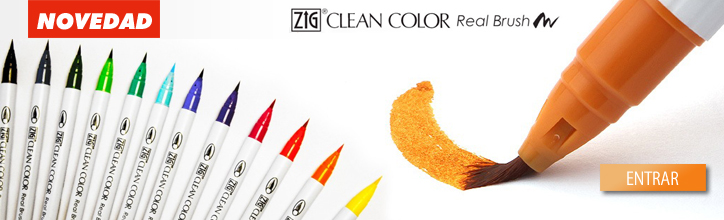 Rotulador pincel Clean Color Real Brush