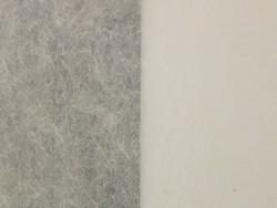 Papel 100% gampi de 75 x141 cm, color blanco roto, 20 g/m2 y PH 6,9