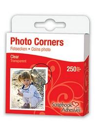 Corner transparente para fotografías