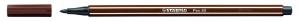 Stabilo: Pen 68: marrón