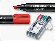 Staedtler: rotulador lumocolor permanent