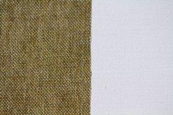 Tela algodón: 3 x 8 metros: preparación óleo/acrílico: grano medio: 139 gr/m2