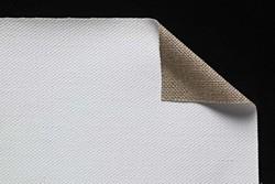 Tela lino belga Claessens: 3,10 x 10 metros: preparación óleo/acrílico: grano grueso: 540 gr/m2