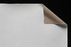 Tela lino belga Claessens: 2,10 x 1 metro: preparación óleo: grano extrafino