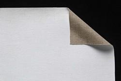 Tela lino belga Claessens: 3,10 x 10 metros: preparación óleo/acrílico: grano medio
