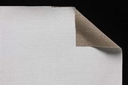 Tela lino belga Claessens: 2,10 x 10 metros: preparación óleo/acrílico: a la caseína - absorbente