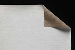 Tela lino belga Claessens: 3,10 x 10 metros: preparación óleo: grano medio