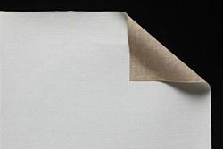 Tela lino belga Claessens: 2,10 x 1 metro: preparación óleo: grano fino