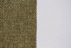 Tela algodón esterilla: 2,10 x 1 metro: preparación óleo/acrílico: grano grueso: 320 gr/m2