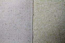 Tela algodón: 2,10 x 1 metro: preparación cola de conejo: 330 gr/m2
