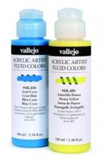 Vallejo: acrílico fluido: 100 ml