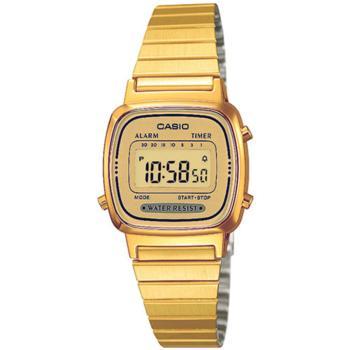 3a3c60fda5f4 Reloj Casio Dorado Mujer la670wega9ef