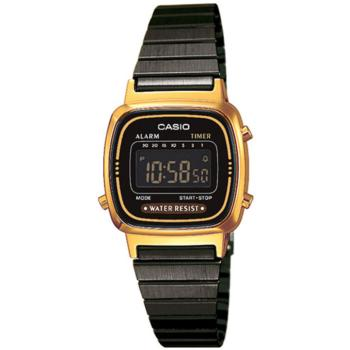 a85aae9a4ce4 Casio Collection Gold Watch la670wegb1bef