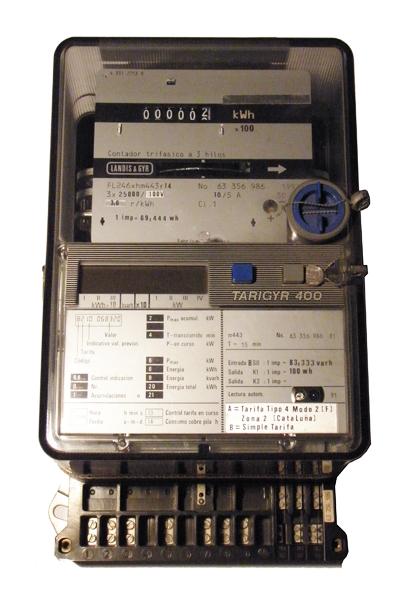 LandisGyr contador electrico FL246xhm433r14