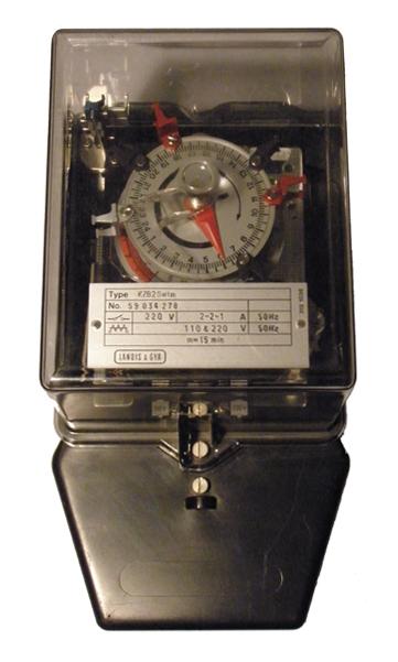 landis gyr reloj programable KZBSwtm