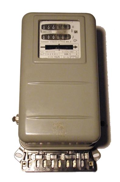 LandisGyr contador energia electrica MG330 hd