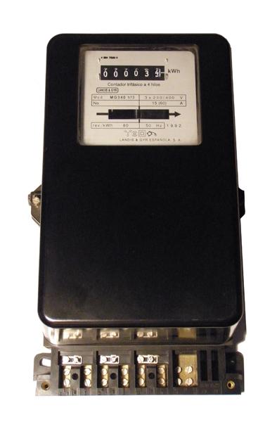LandisGyr contador energia electrica MG340hf3