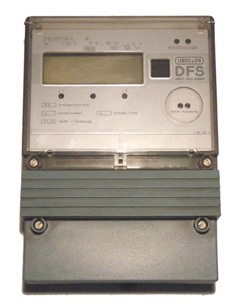 LandisGyr detector campo directo ZFB210T11Or14