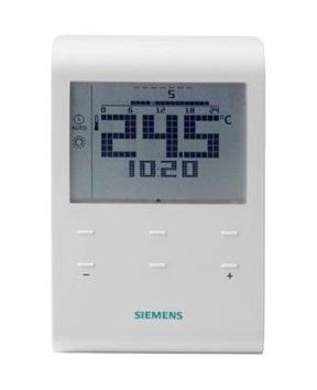 Siemens RDE100.1RF Termostato programable inalámbrico