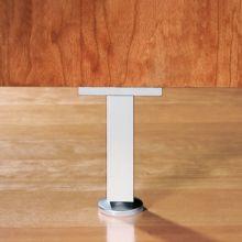 Kit de 4 pies Prisma Emuca para mueble, altura 90 mm en aluminio anodizado mate - Ítem5