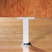 Emuca Kit pie nivelador para mueble, cuadrado, regulable 150-160 mm, Aluminio, Anodizado mate, 4 ud. - Ítem4
