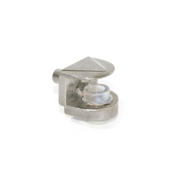 Lote de 50 Soportes para estante de cristal 561 Emuca D. 5 mm