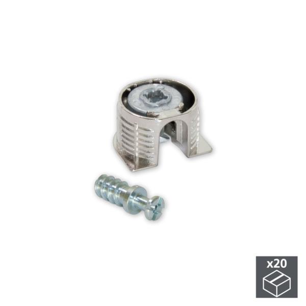 Ringschneide 4-40 UNC x 1//8 schwarz  Set Screw Cup Point Gewindestift mit ISK u