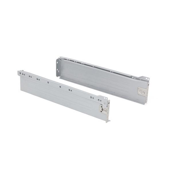 Kit de cajón exterior Ultrabox Emuca altura 86 mm y profundidad 350 mm