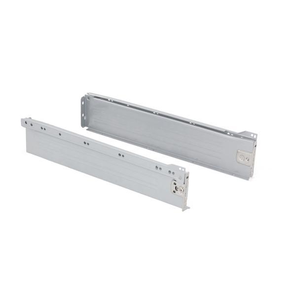 Kit de cajón exterior Ultrabox Emuca altura 86 mm y profundidad 450 mm