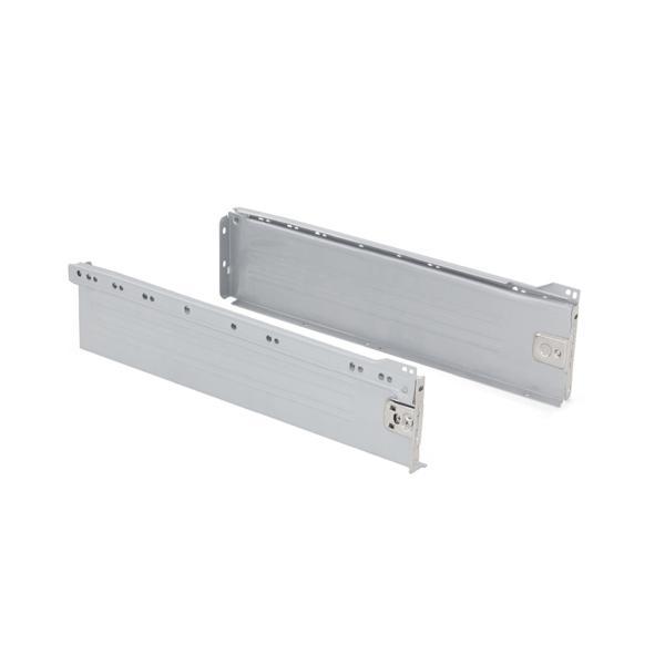 Kit de cajón exterior Ultrabox Emuca altura 118 mm y profundidad 350 mm