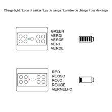 Emuca Luz LED a pilas, sensor de movimiento, Luz blanca fría, Plástico, Gris metalizado - Ítem4