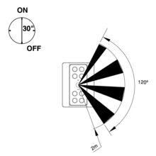 Emuca Luz LED a pilas, sensor de movimiento, Luz blanca fría, Plástico, Gris metalizado - Ítem6
