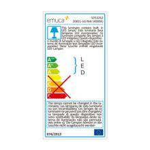 Emuca Foco LED, D. 70 mm, Luz blanca natural, Alumino y plástico, Anodizado mate - Ítem4