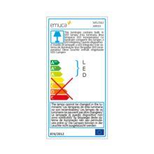 Aplique LED Persei Emuca A 595 mm luz blanca fría con sensor de movimiento - Ítem3