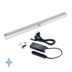 Aplique LED Persei Emuca A 595 mm luz blanca fría con sensor de movimiento - Ítem
