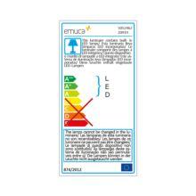 Aplique LED Persei Emuca A 395 mm luz blanca cálida con sensor de movimiento - Ítem3