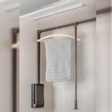 Emuca Aplique LED, 595 mm, sensor movimiento, Luz blanca cálida, Aluminio y plástico - Ítem5