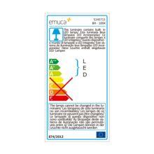 Emuca Aplique LED para espejo de baño, 40 mm, IP44, Luz blanca fría, Aluminio y plástico, Cromado - Ítem6