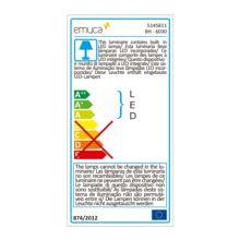 Emuca Aplique LED para espejo de baño, 450 mm, IP44, Luz blanca fría, Aluminio y plástico, Cromado - Ítem5