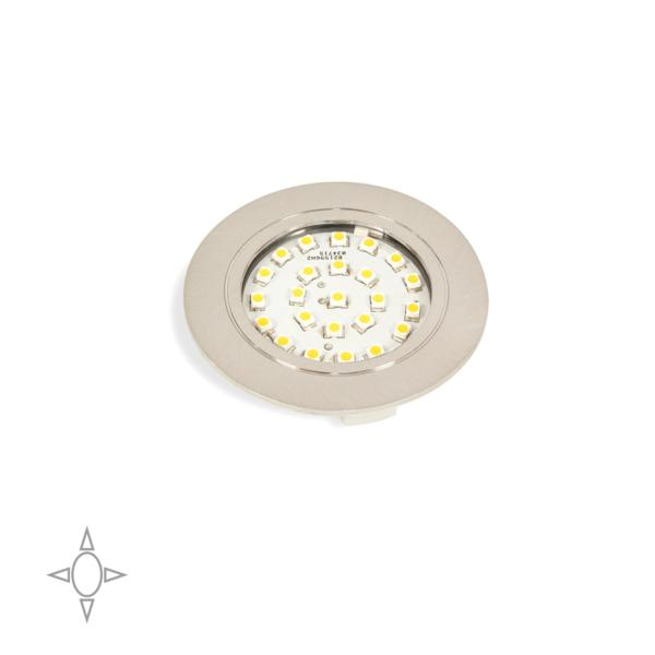 Foco LED Crux-in Emuca para empotrar con luz natural