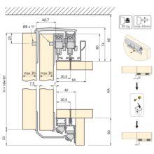 Armario Space+ Emuca 2 puertas con perfiles Free rapid y cierre suave - Ítem2