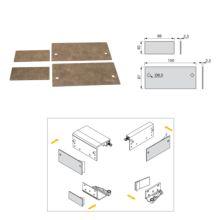 Armario Space+ Emuca 2 puertas con perfiles Free rapid y cierre suave - Ítem5